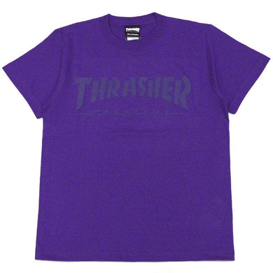 Thrasher Kids Foaming Logo S/S Tee Purple