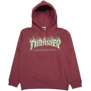 Thrasher Tiger Flame Camo Hoodie Sweat