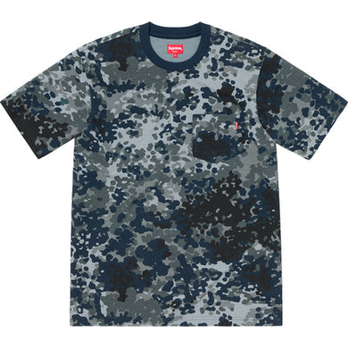 Pocket Tee (Navy Camo)