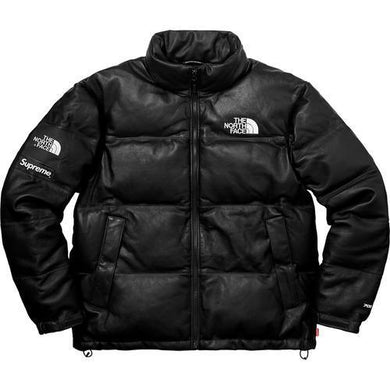 Supreme The North Face Leather Nuptse Jacket