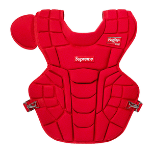 Supreme Rawlings Catcher's Chest Protector Red
