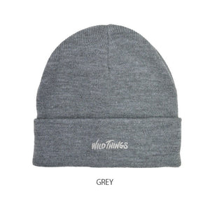 Wild Things Watch Beanie Grey