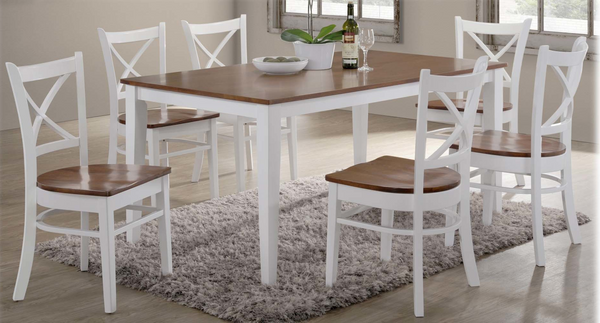 Crossback Dining Furniture, Dining Suite, Adelaide Furniture and Electrical, Adelaide Furniture and Electrical