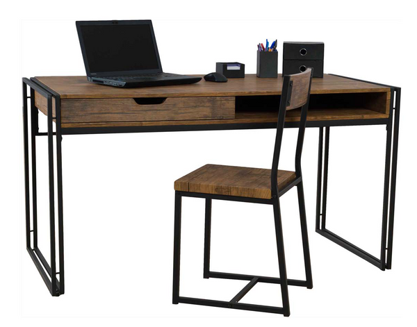 Ironstone Large Desk and Chair, Desk, Ironstone, Adelaide Furniture and Electrical