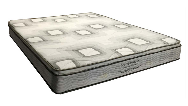Diplomat Bonnell Springs With A Euro Pillow Top Mattress, Mattress, Adelaide Furniture and Electrical, Adelaide Furniture and Electrical