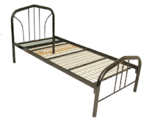 Alison Black Tube Bed, Bed Frame, Adelaide Furniture and Electrical, Adelaide Furniture and Electrical