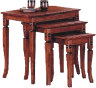 Crystal Nest of 3 Tables, Nest of Tables, Adelaide Furniture and Electrical, Adelaide Furniture and Electrical