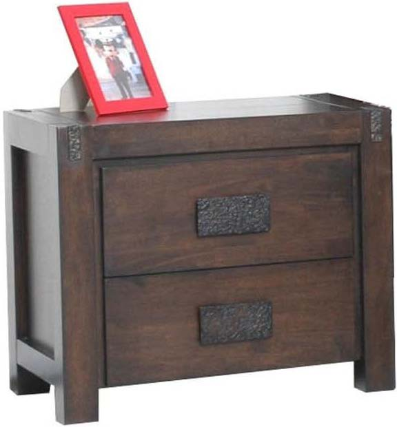 Congo 2 Drawer Bedside
