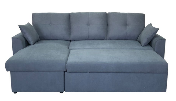 Dover 2 Seater Sofabed with Storage Chaise