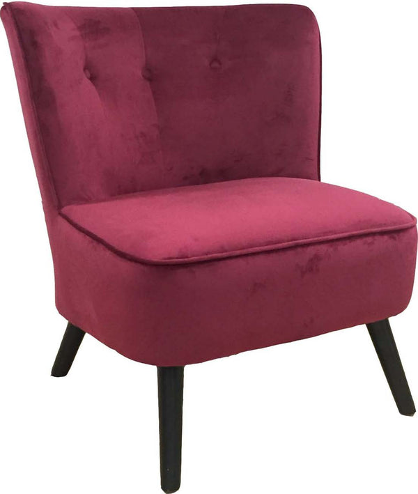 Saba Velvet Occasional Chair