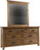 Webster 7 Drawer Dresser & Mirror