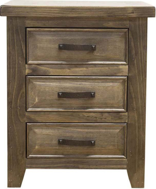 Westwood 3 Drawer Bedside