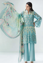 Stitched Suit - 4 PC Embroidered Chiffon