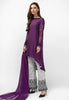 3PC Lawn Suit - Purple