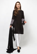 3PC Lawn Suit - Black