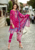 Stitched Suit - 3 PC Digital Cotton Satin