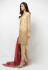 3PC Lawn Suit - Beige