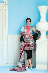 Stitched Suit - 2 PC Embroidered Cambric