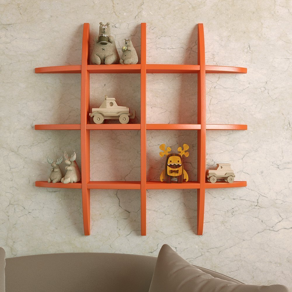 decorative shelf shelves collections with wall artesia products brown shop