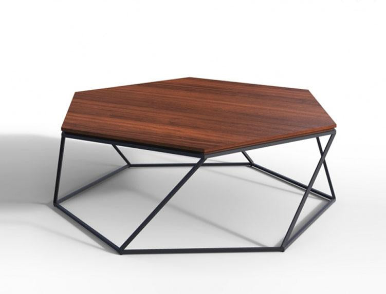 Mamta Decoration Solid Wood INDIANA Hex Coffee Table Mamta Decoration - Hex coffee table