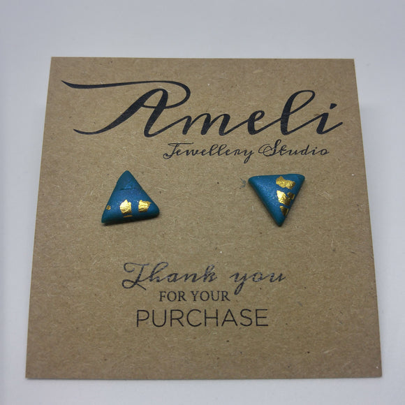 Katie Studs - Triangles - Ameli Jewellery Studio