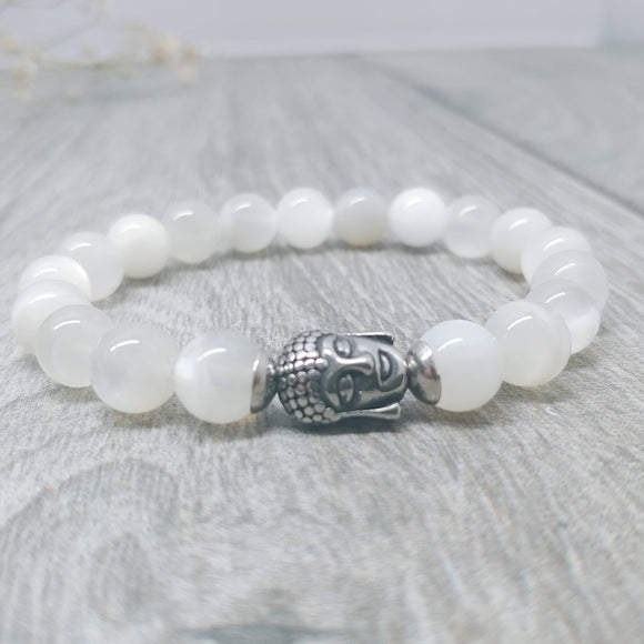 Moonstone Affirmation Bracelet - Fertility