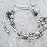 Netstone Three-Tier Bracelet