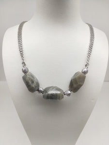 Faceted Labradorite Matinee Necklace - Ameli Jewellery Studio