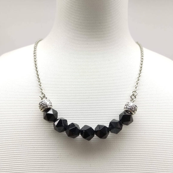 Agate Half Moon Necklace - Ameli Jewellery Studio