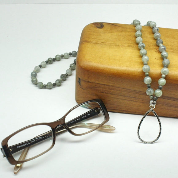 Labradorite Eyeglass Serendipity Necklace - Ameli Jewellery Studio