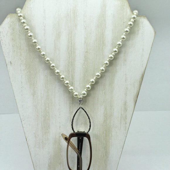 Pearl Eyeglass Classic Necklace - Ameli Jewellery Studio