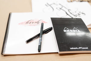 Deco Ink Designs | Modern Brush Calligraphy Practice Guide