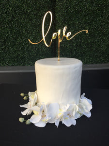 Love | Wedding Cake