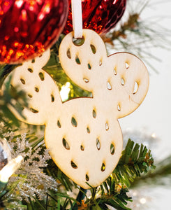 Handdrawn Lasercut Ornament | Pick your Style