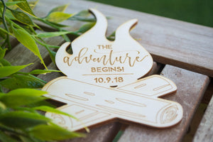 Laser Cut Engraved Party Favors | Magnets