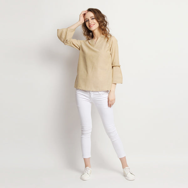 Keep-It-Simple Neutral Top