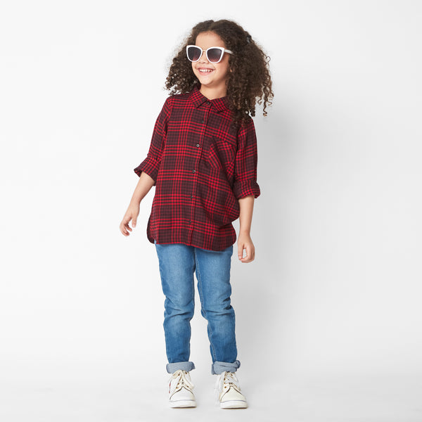 Red Riding Tartan Shirt