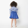 Little Hearts Chambray Skirt