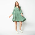 Twist & Twirl Boho Dress