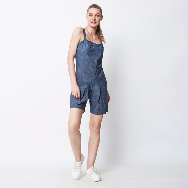 Keep-It-Cool Cross-back Playsuit
