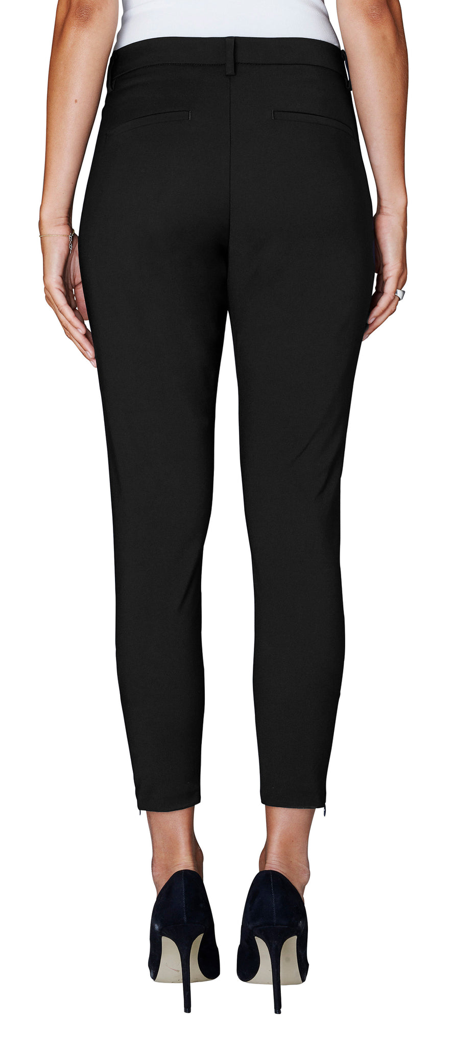 FIVEUNITS - ANGELIE ZIP PANT - BLACK