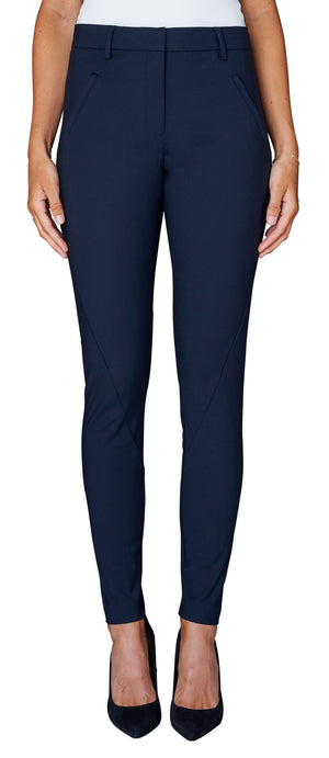 FIVEUNITS - ANGELIE FULL LENGTH PANT - NAVY