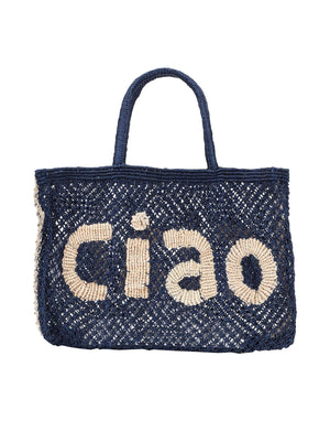 CIAO BAG SMALL - INDIGO / NATURAL - THE JACKSONS