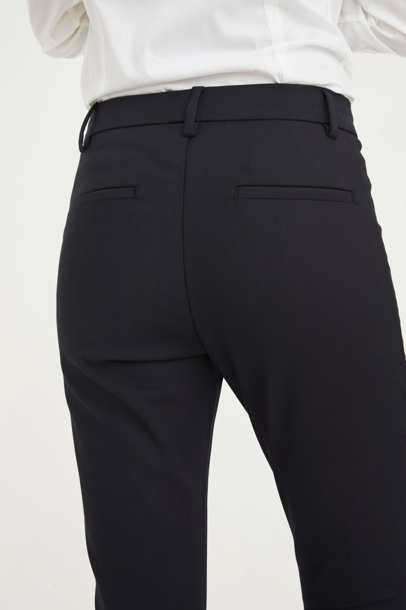 ANGELIE FULL LENGTH PANT - NAVY - FIVE UNITS