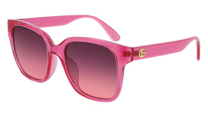 GG0715SA004 - RECTANGLE BRIGHT PINK - GUCCI