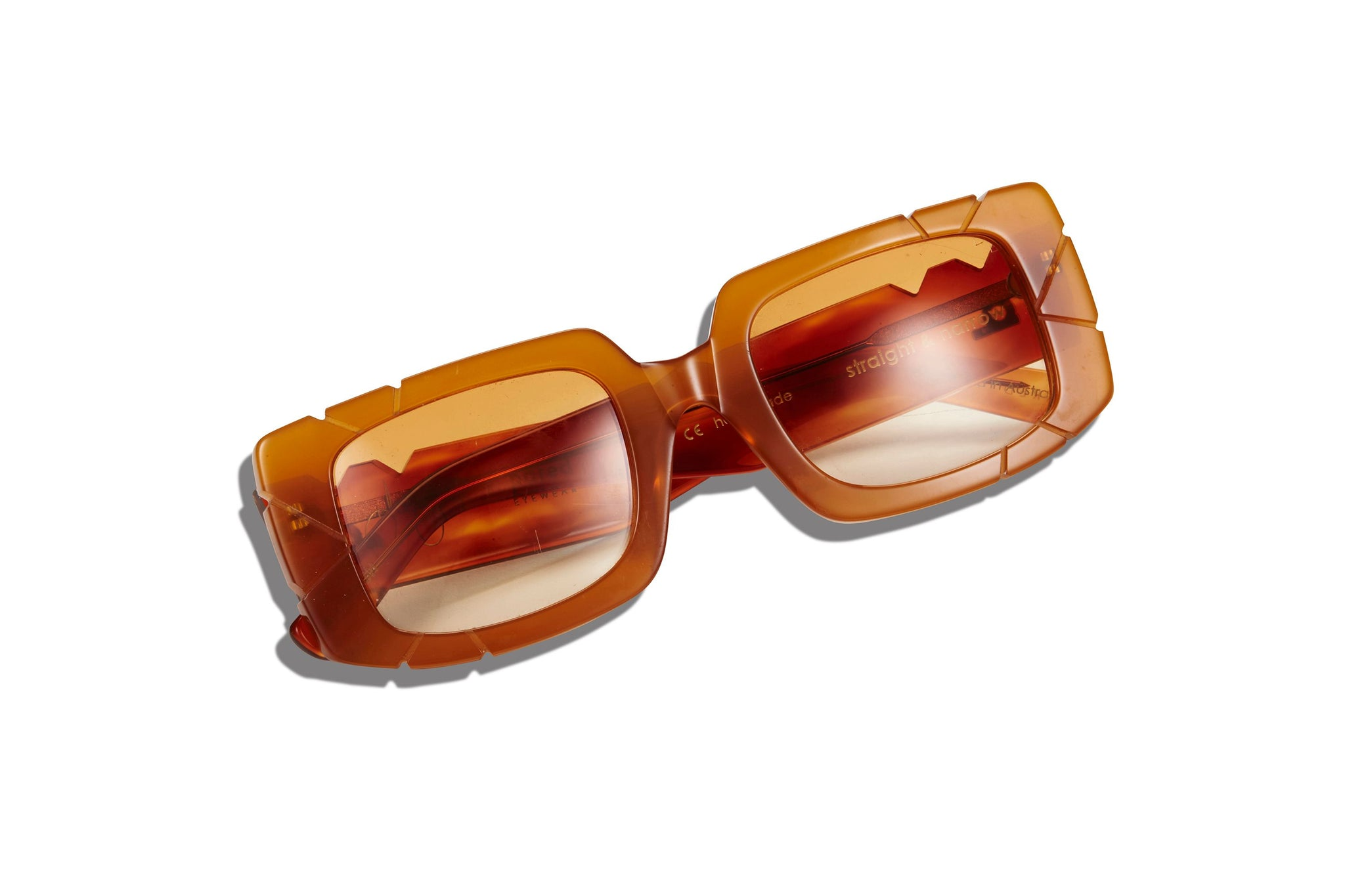 JORDAN SIMEK X PARED EYEWEAR 01 - CARAMEL - PARED EYEWEAR