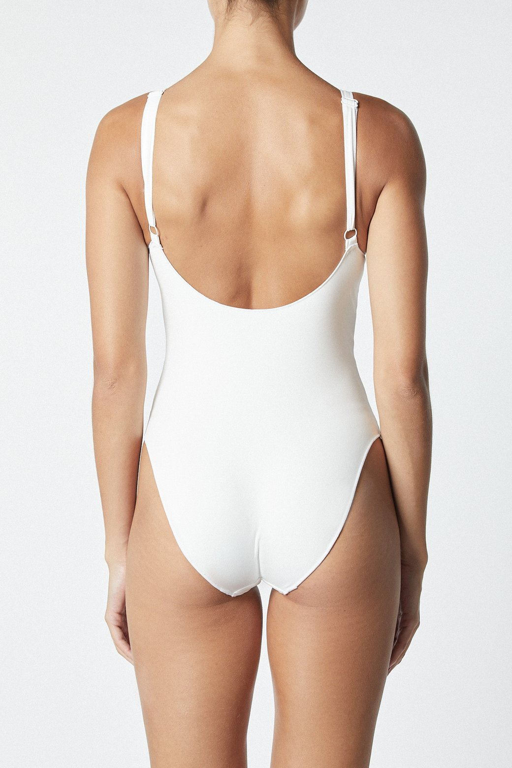 THE CONTOUR ONE PIECE - WHITE - IT'S NOW COOL