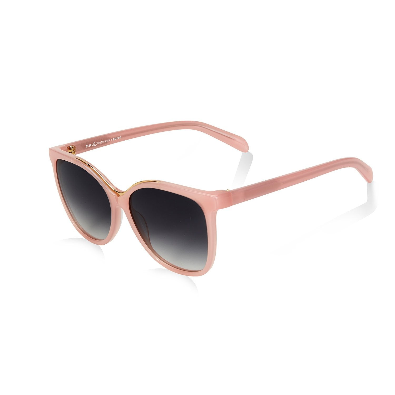 SWALLOW 3 SUNGLASSES - BLUSH PINK GOLD - PARED EYEWEAR