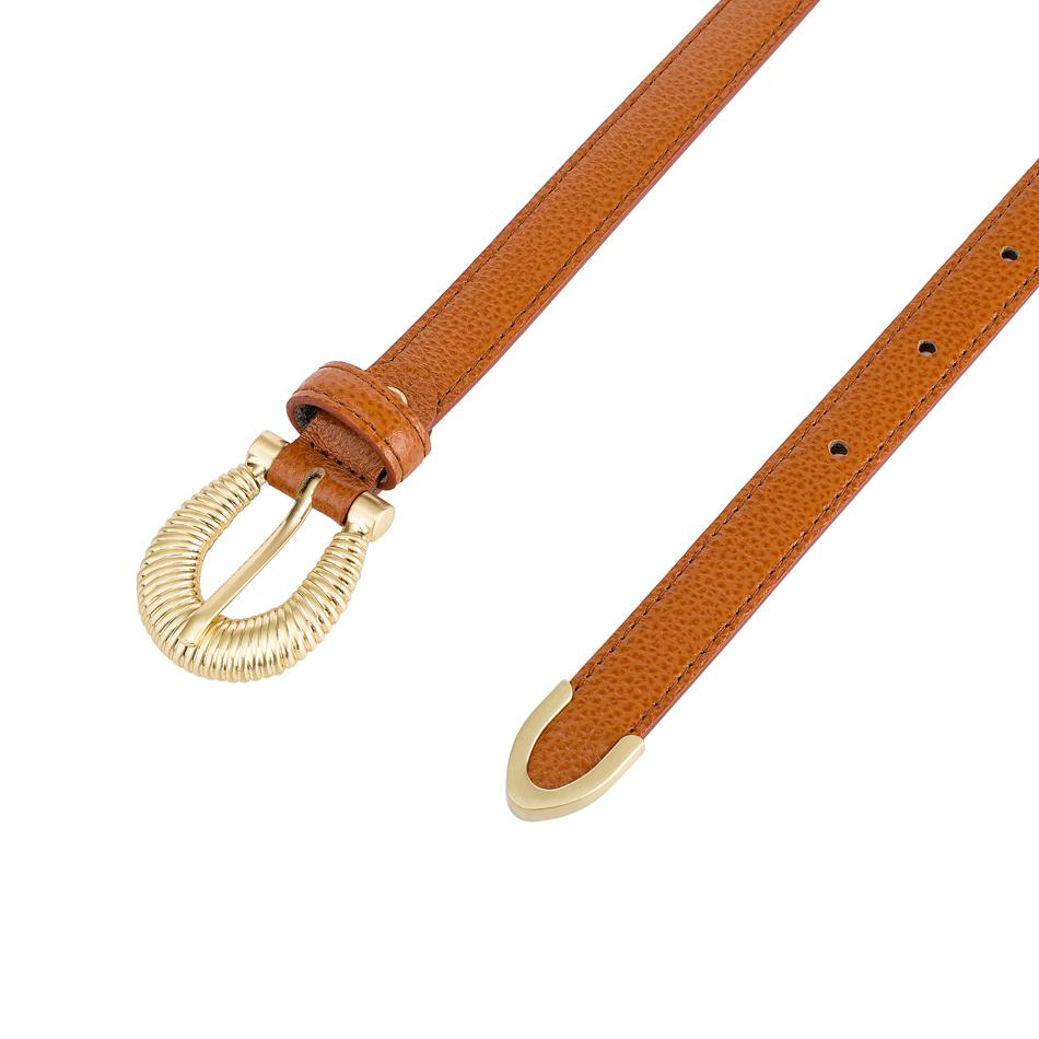 THE KENZA BELT - COGNAC - SANCIA