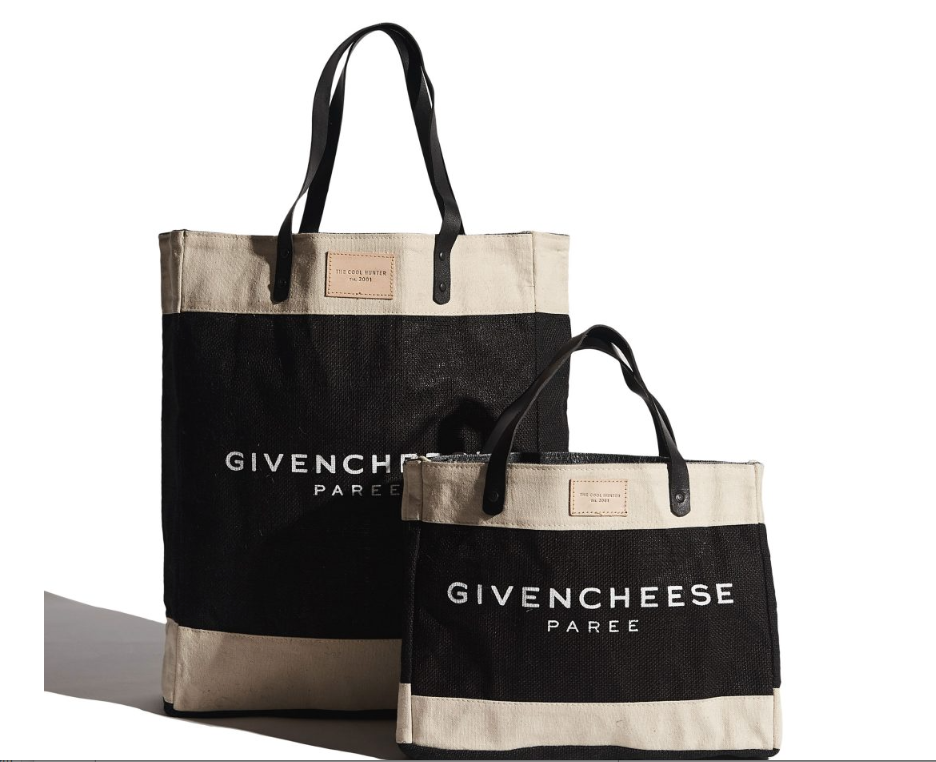 GIVENCHEESE - MINI - MARKET BAG